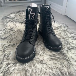 Brand New/ Kendall and Kylie Combat Boots